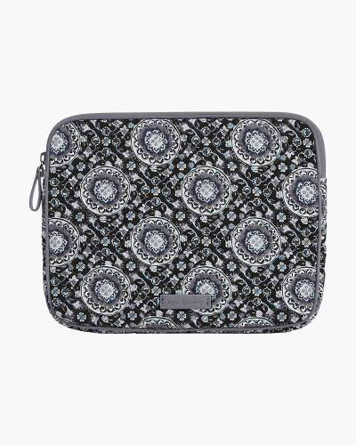 Iconic Tablet Sleeve in Charcoal Medallion