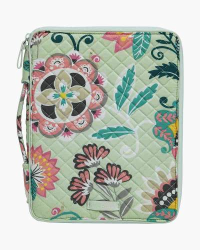 Iconic Tablet Tamer Organizer in Mint Flowers