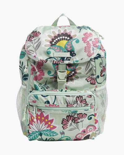 Lighten Up Daytripper Backpack in Mint Flowers
