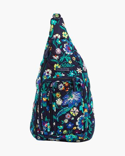 Iconic Sling Backpack in Moonlight Garden