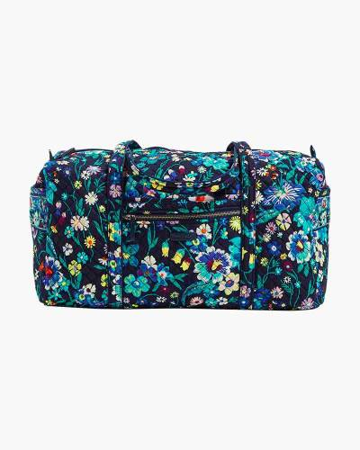 Iconic Large Travel Duffel in Moonlight Garden