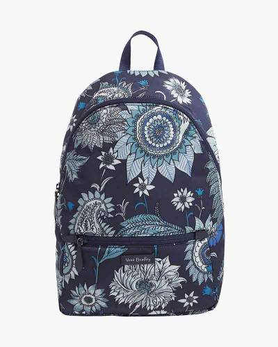 Midtown Convertible Backpack in Cornflower Blossoms
