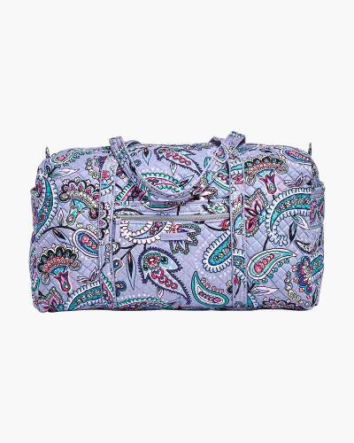 Iconic Large Travel Duffel in Makani Paisley
