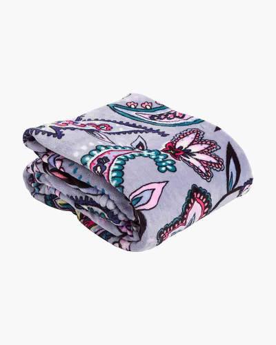 Plush Throw Blanket in Makani Paisley