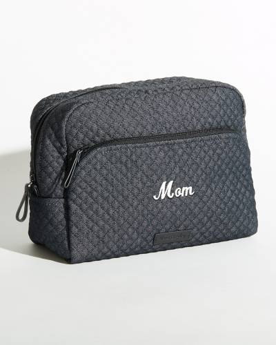 Iconic Large Cosmetic in Denim Navy for Mom