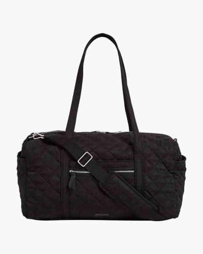 Iconic Medium Travel Duffel in Black