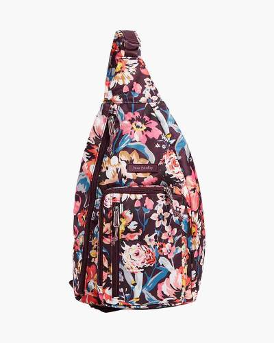 Lighten Up Sling Backpack in Indiana Blossoms