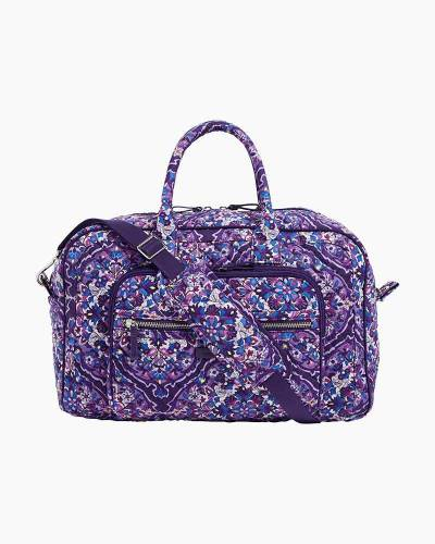 Iconic Compact Weekender Travel Bag in Regal Rosette