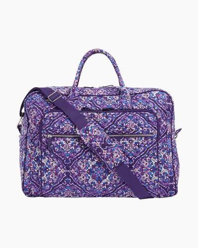 Iconic Grand Weekender Travel Bag in Regal Rosette
