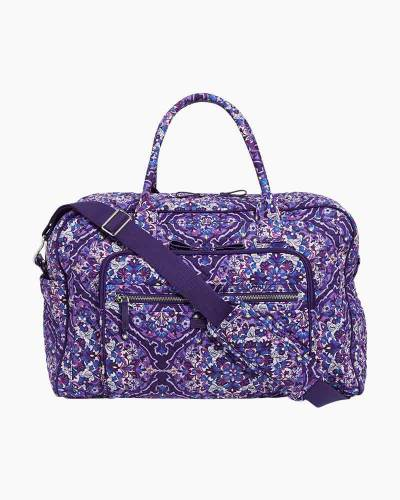 Iconic Weekender Travel Bag in Regal Rosette