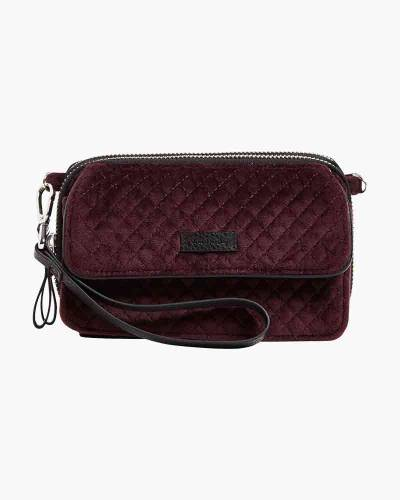 Iconic RFID All in One Crossbody in Blackberry Wine