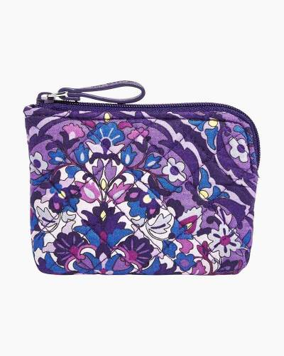 Iconic Coin Purse in Regal Rosette