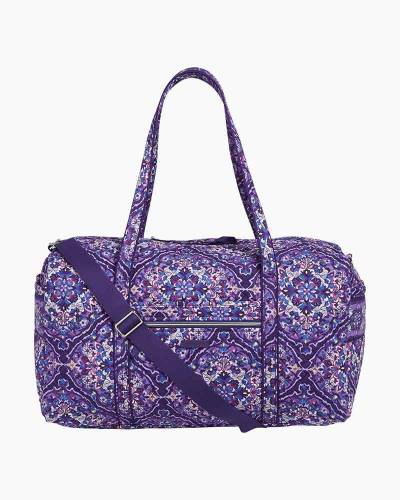 Iconic Large Travel Duffel in Regal Rosette
