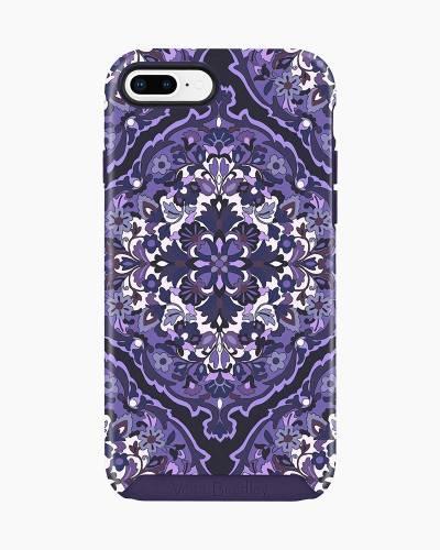 Hybrid Phone Case for iPhone 6+/7+/8+ in Regal Rosette
