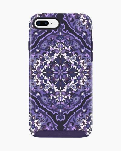 Hybrid Phone Case for iPhone 6/6S/7/8 in Regal Rosette