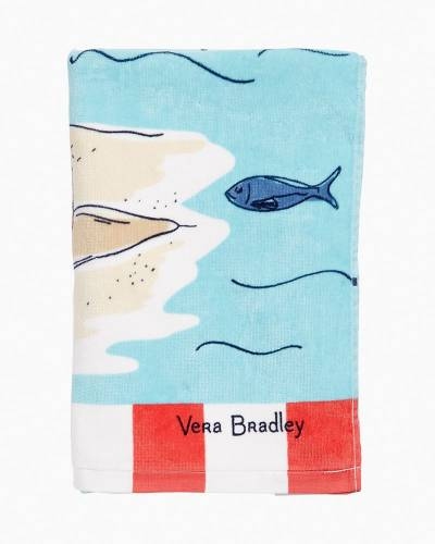 Exclusive Beach Towel in Beach Toile