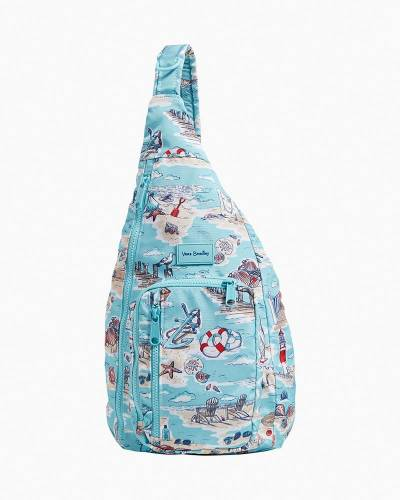 Exclusive ReActive Sling Backpack in Beach Toile