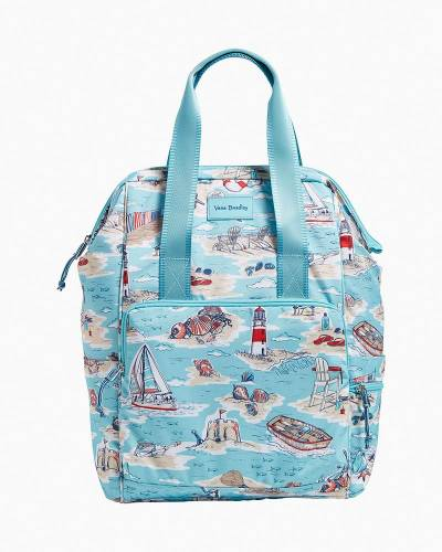 Exclusive ReActive Cooler Backpack in Beach Toile