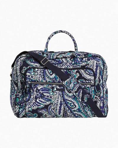 Iconic Grand Weekender Travel Bag in Deep Night Paisley