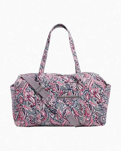 Iconic Large Travel Duffel in Gramercy Paisley