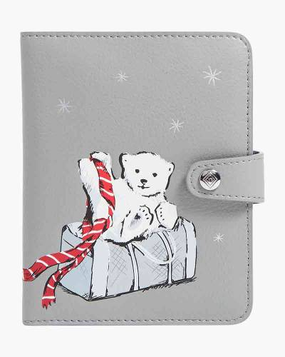 Iconic RFID Passport Wallet in Beary Merry