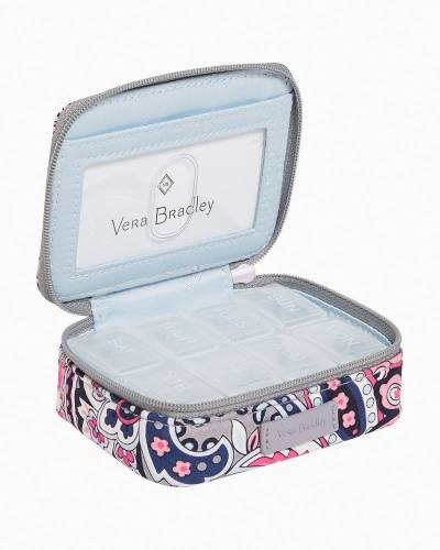 Iconic Travel Pill Case in Gramercy Paisley