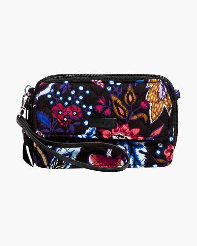 Iconic RFID All in One Crossbody in Foxwood