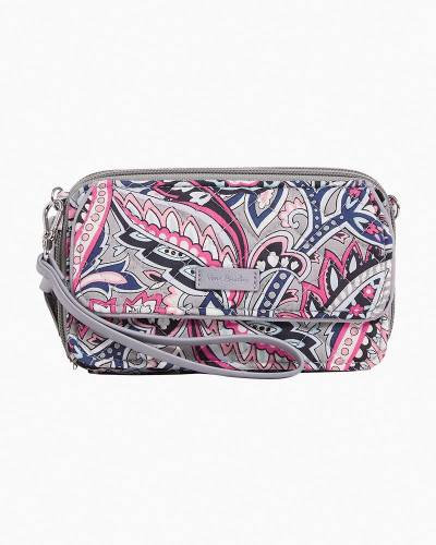 Iconic RFID All in One Crossbody in Gramercy Paisley