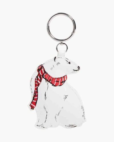 Polar Bear Bag Charm in Beary Merry