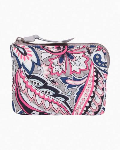 Iconic Coin Purse in Gramercy Paisley