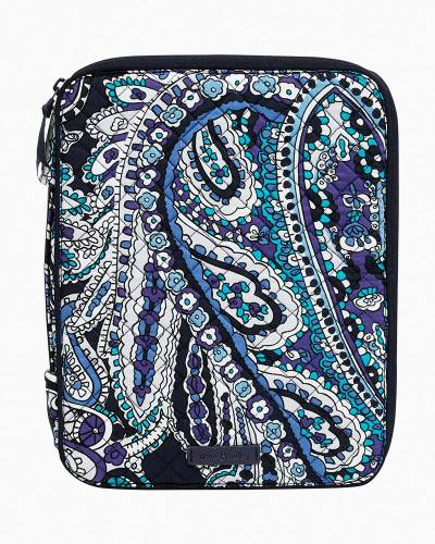 Iconic Tablet Tamer Organizer in Deep Night Paisley