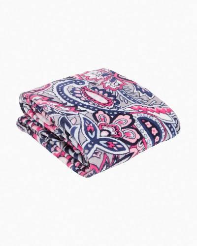 Plush Throw Blanket in Gramercy Paisley