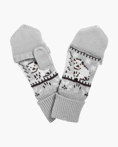 Cozy Convertible Mittens in Beary Merry