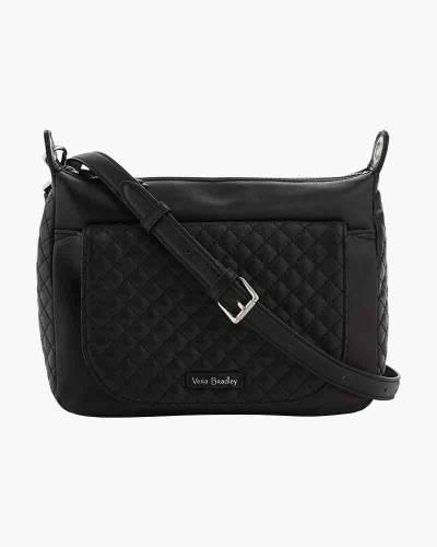Carson Mini Shoulder Bag in Black