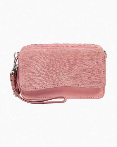 Carryall RFID All in One Crossbody in Vintage Rose