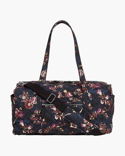 Iconic Medium Travel Duffel Bag in Garden Dream