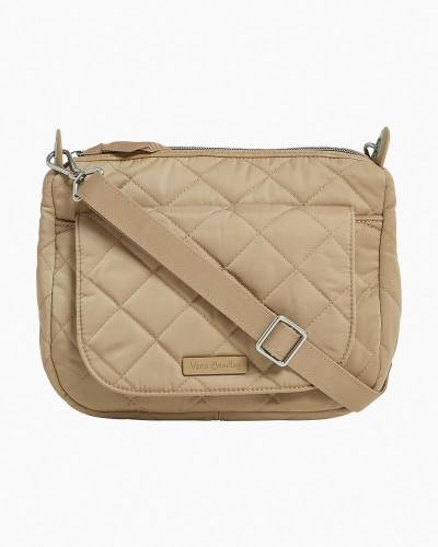 Carson Mini Shoulder Bag in Khaki