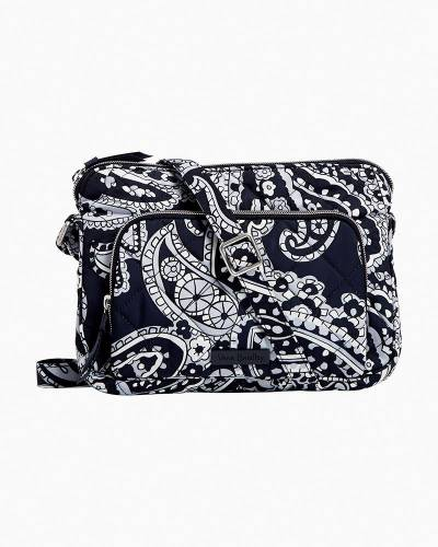 RFID Little Hipster in Deep Night Paisley Neutral