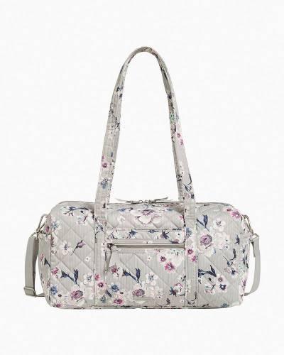 Small Travel Duffel Bag in Park Stripe