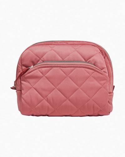 Medium Cosmetic Bag in Strawberry Ice