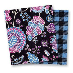 Vera Bradley Patterns Alpine Floral and Alpine Check