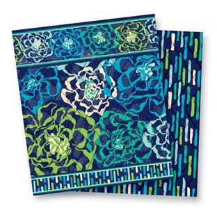 Vera Bradley Patterns Katalina Blues & Katalina Showers