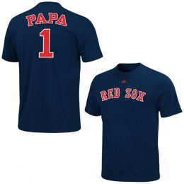 Majestic Boston Red Sox #1 Papa Tee