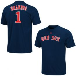 Majestic Boston Red Sox #1 Grandpa Tee