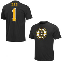 Majestic Boston Bruins #1 Dad Tee