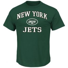 Majestic New York Jets Heart and Soul II Tee