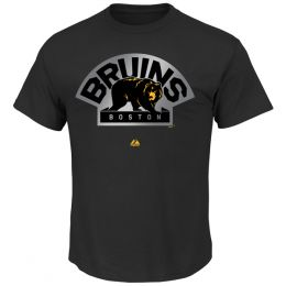 Majestic Boston Bruins Game Reflex Tee