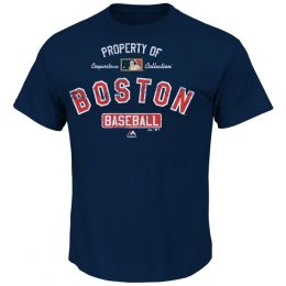 Majestic Property Of Boston Red Sox Tee