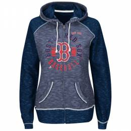 Majestic Boston Red Sox Women's Flash Pitch Full Zip Hoodie