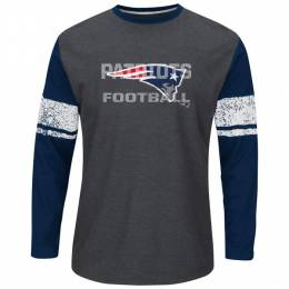 Majestic Men's New England Patriots Down to the Wire Tee